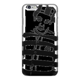 """Чехол для iPhone 6 глянцевый """"I'm not a number. I'm a person """" - кино, политика, протест, чарли чаплин, charlie chaplin"""
