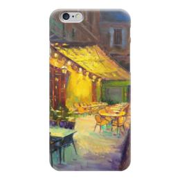 "Чехол для iPhone 6 ""Cafe Van Gogh"" - франция, живопись, чехол на телефон, van gogh, cafe van gogh"