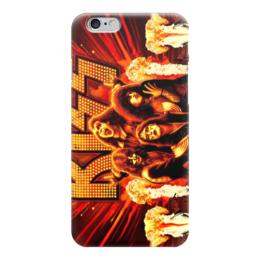"Чехол для iPhone 6 ""Kiss (Кисс)"" - kiss, кисс"
