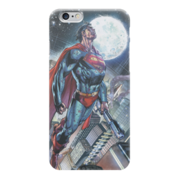 "Чехол для iPhone 6 ""Супермен (Superman)"" - комиксы, superman, супермэн, dc comics"