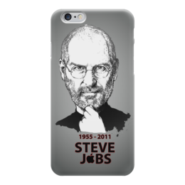"Чехол для iPhone 6 ""Steve Jobs"" - apple, яблоко, steve jobs, эпл, стив джобс"