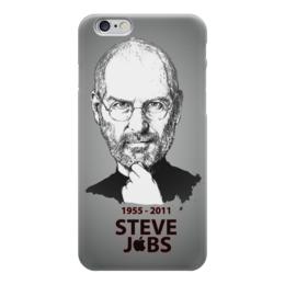 """Чехол для iPhone 6 """"Steve Jobs"""" - apple, яблоко, steve jobs, эпл, стив джобс"""