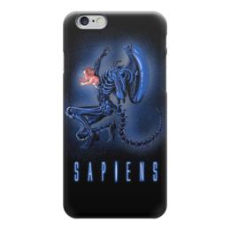 """Чехол для iPhone 6 """"Aliens - Sapiens"""" - кино, aliens, чужой, ужасы, чужие"""