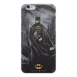 "Чехол для iPhone 6 глянцевый ""Бэтмен"" - бэтмен, комиксы, dc, dc comics, batman"