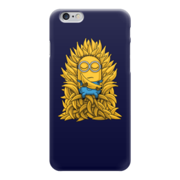 "Чехол для iPhone 6 ""Миньоны. Банана Трон"" - banana, миньоны, игра престолов, game of thrones, minions"