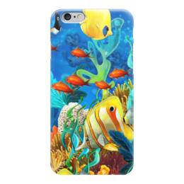 "Чехол для iPhone 6 ""Красота океана"" - рыбки, океан"