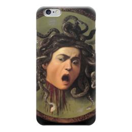 "Чехол для iPhone 6 ""Медуза (картина Караваджо)"" - картина, караваджо"