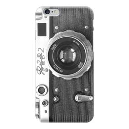 """Чехол для iPhone 6 """"Фотоаппарат"""" - фото, foto, фотоаппарат, камера, фэд 2, fed"""