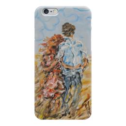"""Чехол для iPhone 6 """"Рыжее лето"""" - для девушки, парень с девушкой, ищу оригинальный подарок, рыжей, ноавится"""