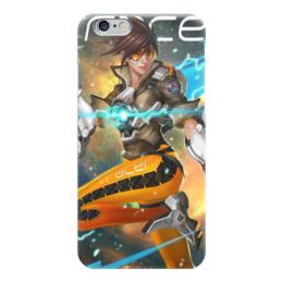 "Чехол для iPhone 6 ""Трейсер"" - blizzard, близзард, overwatch, овервотч, трейсер"