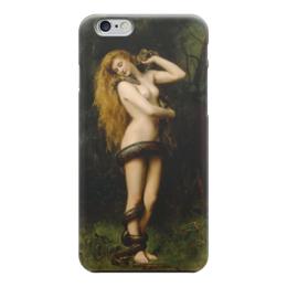 """Чехол для iPhone 6 глянцевый """"Лилит (Джон Кольер)"""" - картина, кольер"""