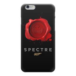 "Чехол для iPhone 6 глянцевый ""Spectre "" - 007, james bond, джеймс бонд, спектр, spectre"