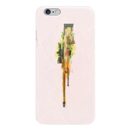 "Чехол для iPhone 6 ""awp | dragon lore"" - ксго, awp"