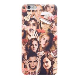 "Чехол для iPhone 6 глянцевый ""Эмма Уотсон"" - гарри поттер, гермиона, эмма уотсон, emma watson"