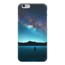 "Чехол для iPhone 6 глянцевый ""Взгляни на небо"" - космос, наука, thespaceway, space, вселенная"