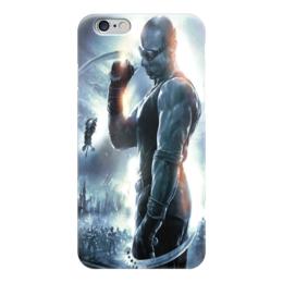 """Чехол для iPhone 6 """"Риддик / Riddick"""" - рисунок, кино, фэнтези, риддик"""