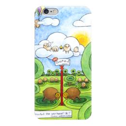 """Чехол для iPhone 6 """"Lollypups #27"""" - баран, овца, ворота, лолипупсы"""