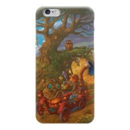 """Чехол для iPhone 6 глянцевый """"Стимпанк / Steampunk"""" - любовь, машины, steampunk, стимпанк, фэнтези"""