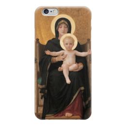 """Чехол для iPhone 6 """"Мадонна (картина Бугро)"""" - картина, бугро"""