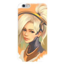 "Чехол для iPhone 6 ""Mercy"" - ангел, blizzard, близзард, овервотч, overwartch"