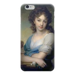 """Чехол для iPhone 6 """"Портрет Е.А.Нарышкиной"""" - картина, боровиковский"""