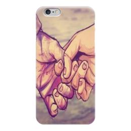 """Чехол для iPhone 6 глянцевый """"couple"""" - любовь, пара, love"""