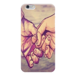 "Чехол для iPhone 6 ""couple"" - любовь, love, пара"