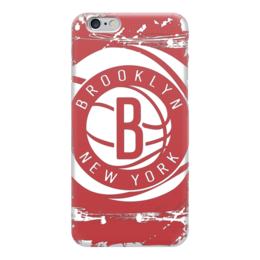 "Чехол для iPhone 6 ""Brooklyn Nets"" - баскетбол, нба, бруклин нетс, brooklyn nets"