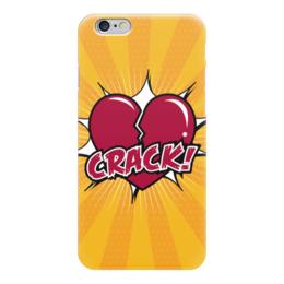 "Чехол для iPhone 6 глянцевый ""Сердце"" - арт, рисунок, сердце, любовь"