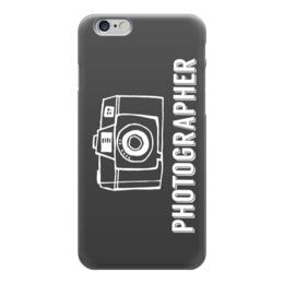 """Чехол для iPhone 6 глянцевый """"Photographer"""" - фото, фотоаппарат, фотография, фотограф"""
