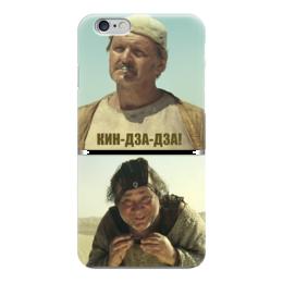 "Чехол для iPhone 6 глянцевый ""Кин-дза-дза"" - плюк, кин-дза-дза, леонов, яковлев"