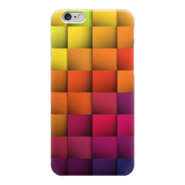 "Чехол для iPhone 6 ""Абстракция"" - квадрат, абстракция, фигуры, абстракционизм, арт дизайн"