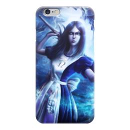 """Чехол для iPhone 6 """"Алиса в стране чудес"""" - алиса в стране чудес"""