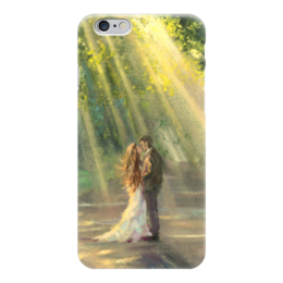 "Чехол для iPhone 6 ""Любовь"" - любовь, love, пара, лучи"