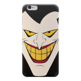 """Чехол для iPhone 6 глянцевый """"Джокер"""" - joker, комиксы, batman, бэтмен, dc comics"""