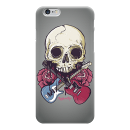 "Чехол для iPhone 6 глянцевый ""Rock in Rio - фестиваль рок музыки"" - heavy metal, рок музыка, skull, хеви метал, череп"