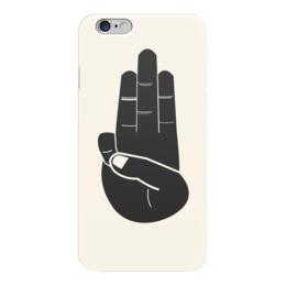 """Чехол для iPhone 6 """"Голодные игры"""" - hunger games, голодные игры, жест, три пальца"""