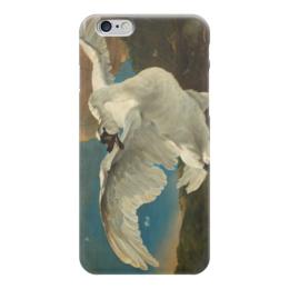 "Чехол для iPhone 6 ""Угрожающий лебедь (The Threatened Swan)"" - картина, аселен"