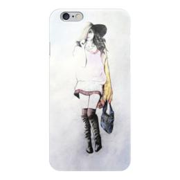 """Чехол для iPhone 6 """"Shopping"""" - стиль, girl, карандаш, shopping, шопинг"""