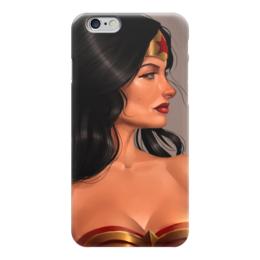 """Чехол для iPhone 6 """"Чудо-Женщина (Wonder Woman)"""" - комиксы, dc, dc comics, чудо-женщина, вондер вуман"""