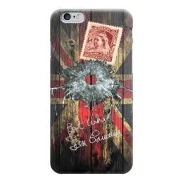 "Чехол для iPhone 6 ""Британский коллаж"" - коллаж, uk, английский флаг, union jack"