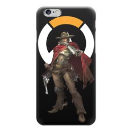 """Чехол для iPhone 6 """"McCree Overwatch / МАККРИ Овервотч"""" - игры, overwatch, mccree, овервотч, маккри"""