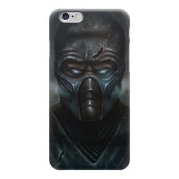 """Чехол для iPhone 6 """"Саб-Зиро (Мортал Комбат)"""" - ниндзя, маска, mortal kombat, sub-zero, саб-зиро"""