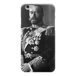 """Чехол для iPhone 6 глянцевый """"Николай 2"""" - царь, россия, русь, империя, император"""