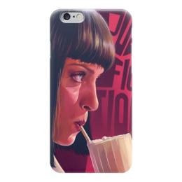 """Чехол для iPhone 6 глянцевый """"Криминальное чтиво"""" - кино"""