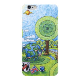 "Чехол для iPhone 6 ""Lollypups #24 (WTO) "" - арт, молоко, корова, лолипупсы"