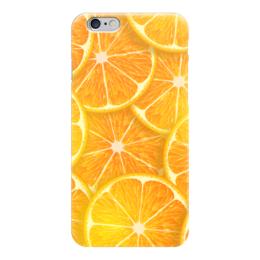 """Чехол для iPhone 6 """"Апельсины"""" - рождество, апельсины, merry christmas, новогодний подарок, 2017"""