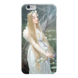"Чехол для iPhone 6 ""Офелия (Ophelia)"" - картина, лефевр"
