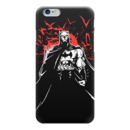 "Чехол для iPhone 6 глянцевый ""Бэтмен (Batman)"" - comics, комиксы, batman, бэтмен, dc"
