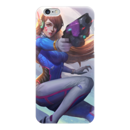 "Чехол для iPhone 6 ""D.va "" - blizzard, дива, близзард, overwatch, овервот"